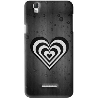 Snooky Printed Hypro Heart Mobile Back Cover For Coolpad Dazen F2 - Multi