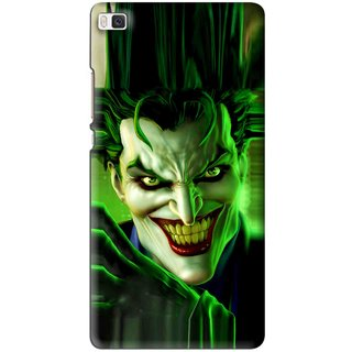 Snooky Printed Horror Wilian Mobile Back Cover For Huawei Ascend P8 - Multi