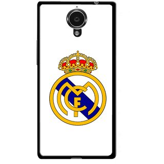 Snooky Printed Sports Logo Mobile Back Cover For Gionee Elife E7 - Multicolour