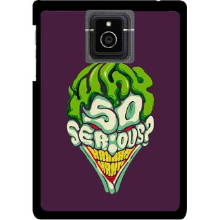 Snooky Printed Serious Mobile Back Cover For Blackberry Passport - Multicolour