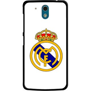 Snooky Printed Sports Logo Mobile Back Cover For HTC Desire 326G - Multicolour