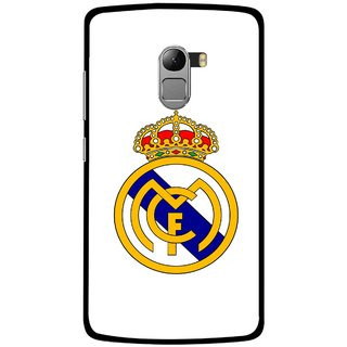 Snooky Printed Sports Logo Mobile Back Cover For Lenovo K4 Note - Multicolour