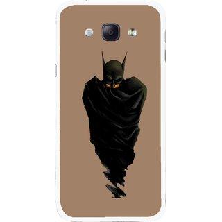 Snooky Printed Hiding Man Mobile Back Cover For Samsung Galaxy A8 - Multicolour