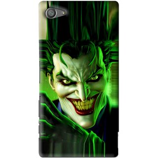 Snooky Printed Horror Wilian Mobile Back Cover For Sony Xperia Z5 Compact - Multi
