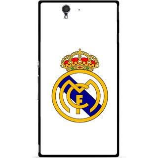 Snooky Printed Sports Logo Mobile Back Cover For Sony Xperia Z - Multicolour