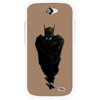 Snooky Printed Hiding Man Mobile Back Cover For Gionee Pioneer P2 - Multicolour