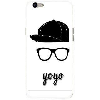 Snooky Printed Yo Yo Mobile Back Cover For Oppo F1s - Multi
