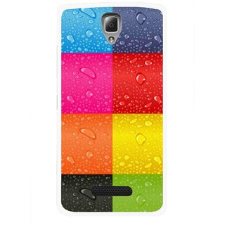 Snooky Printed Water Droplets Mobile Back Cover For Lenovo A2010 - Multicolour