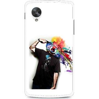 Snooky Printed Shooting Joker Mobile Back Cover For Lg Google Nexus 5 - Multi