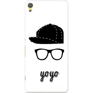 Snooky Printed Yo Yo Mobile Back Cover For Sony Xperia XA - Multicolour