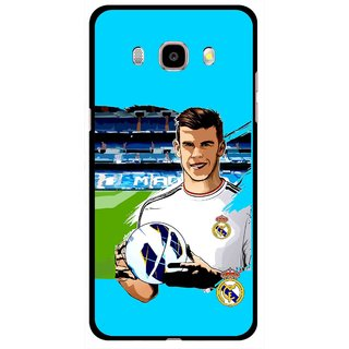 Snooky Printed Football Champion Mobile Back Cover For Samsung Galaxy J5 (2016) - Multicolour