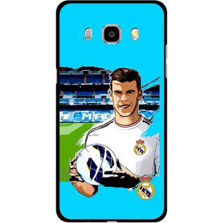 Snooky Printed Football Champion Mobile Back Cover For Samsung Galaxy J7 (2016) - Multicolour