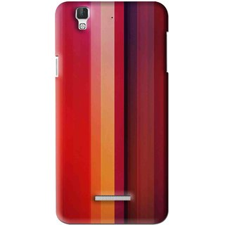 Snooky Printed Colorfull Stripes Mobile Back Cover For Coolpad Dazen F2 - Multi