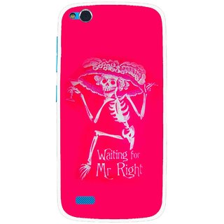 Snooky Printed Mr.Right Mobile Back Cover For Gionee Elife E3 - Multi