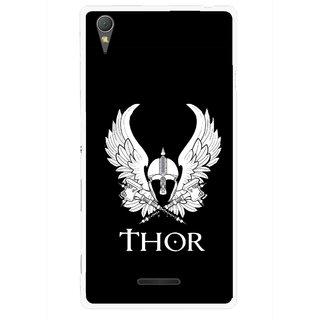 Snooky Printed The Thor Mobile Back Cover For Sony Xperia T3 - Multicolour