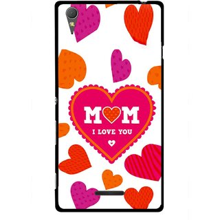 Snooky Printed Mom Mobile Back Cover For Sony Xperia T3 - Multicolour