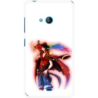 Snooky Printed Free Mind Mobile Back Cover For Nokia Lumia 540 - Multicolour