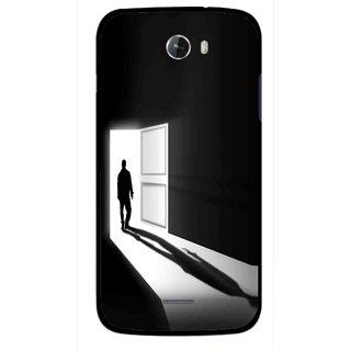 Snooky Printed Night Out Mobile Back Cover For Micromax Bolt A068 - Multicolour