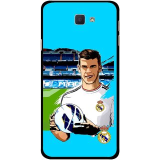 Snooky Printed Football Champion Mobile Back Cover For Samsung Galaxy J7 Prime - Multicolour