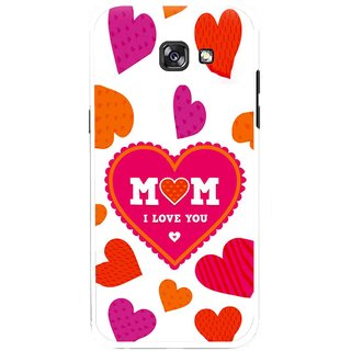 Snooky Printed Mom Mobile Back Cover For Samsung Galaxy A7 (2017) - Multicolour