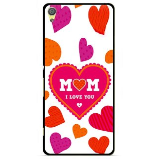 Snooky Printed Mom Mobile Back Cover For Sony Xperia XA - Multicolour