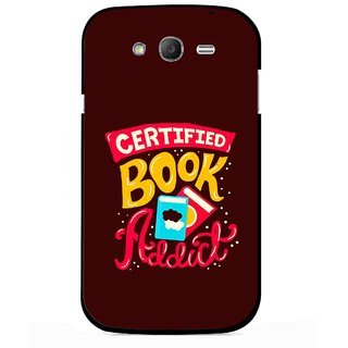 Snooky Printed Reads Books Mobile Back Cover For Samsung Galaxy Grand I9082 - Multicolour
