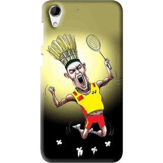 Snooky Printed Adivasi Sports Mobile Back Cover For HTC Desire 728 - Multi