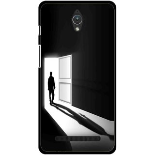 Snooky Printed Night Out Mobile Back Cover For Asus Zenfone C - Multicolour