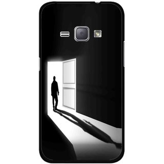 Snooky Printed Night Out Mobile Back Cover For Samsung Galaxy J1 - Multicolour