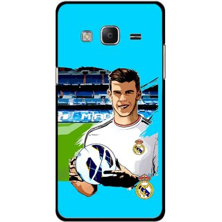 Snooky Printed Football Champion Mobile Back Cover For Samsung Tizen Z3 - Multicolour