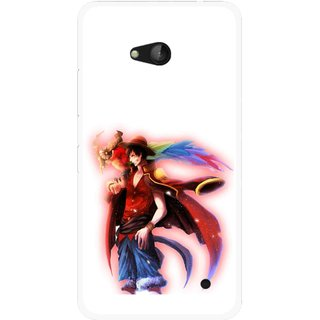 Snooky Printed Free Mind Mobile Back Cover For Nokia Lumia 640 - Multicolour