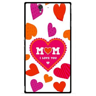 Snooky Printed Mom Mobile Back Cover For Sony Xperia Z - Multicolour