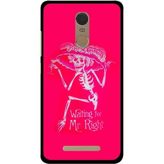 Snooky Printed Mr.Right Mobile Back Cover For Gionee S6s - Multi
