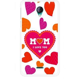 Snooky Printed Mom Mobile Back Cover For Micromax Canvas Unite 2 - Multicolour