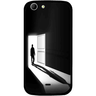 Snooky Printed Night Out Mobile Back Cover For Micromax Canvas 4 A210 - Multicolour