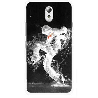 Snooky Printed Dance Mania Mobile Back Cover For Lenovo Vibe P1M - Multicolour