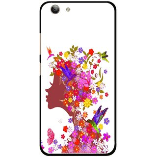 quality design 82368 dd4c8 Snooky Printed Girl Beauty Mobile Back Cover For Vivo Y53 - Multi