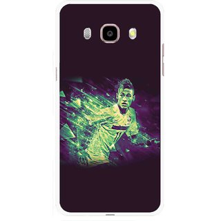 Snooky Printed Running Boy Mobile Back Cover For Samsung Galaxy J5 (2016) - Multicolour