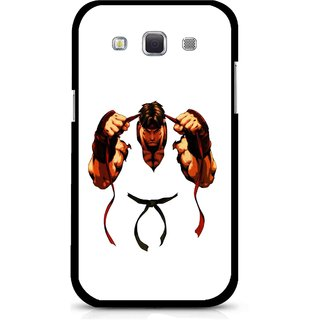 Snooky Printed Karate Boy Mobile Back Cover For Samsung Galaxy 8552 - Multicolour