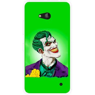 Snooky Printed Ismail Please Mobile Back Cover For Nokia Lumia 640 - Multicolour