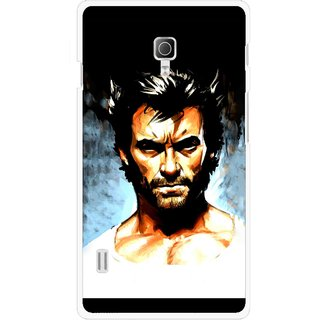 Snooky Printed Angry Man Mobile Back Cover For Lg Optimus L7 II P715 - Multicolour