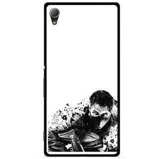 Snooky Printed Commando Mobile Back Cover For Sony Xperia Z4 - Multi