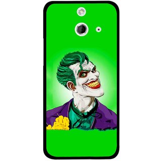 Snooky Printed Ismail Please Mobile Back Cover For HTC One E8 - Multicolour