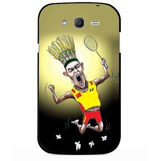 Snooky Printed Adivasi Sports Mobile Back Cover For Samsung Galaxy Grand I9082 - Multicolour