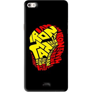 Snooky Printed I am Man Mobile Back Cover For Micromax Canvas Sliver 5 Q450 - Multi