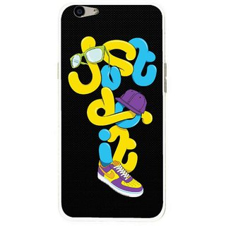 Snooky Printed Just Do it Mobile Back Cover For Oppo F1s - Multi