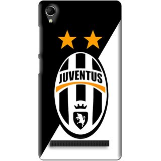 Snooky Printed Football Club Mobile Back Cover For Intex Aqua Power Plus - Multi