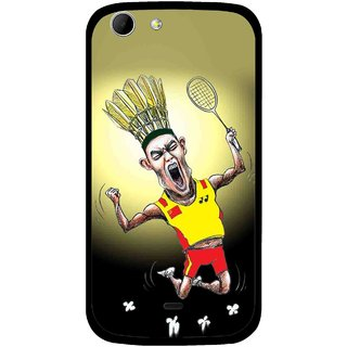 Snooky Printed Adivasi Sports Mobile Back Cover For Micromax Canvas 4 A210 - Multicolour