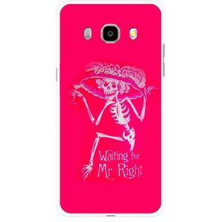 Snooky Printed Mr.Right Mobile Back Cover For Samsung Galaxy J5 (2016) - Multicolour
