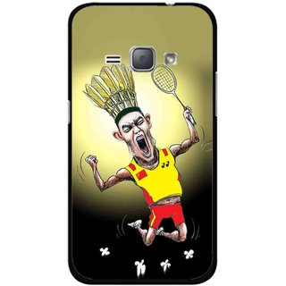 Snooky Printed Adivasi Sports Mobile Back Cover For Samsung Galaxy J1 - Multicolour